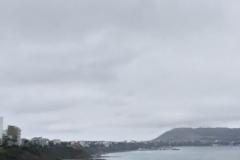 Lima coast line