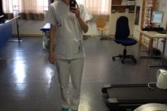 Vikki at work